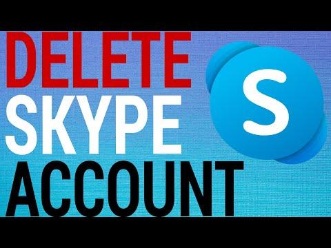 How To Permanently Delete Skype Account (2020)