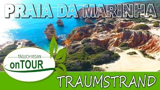 Traumstrand in Portugal | Praia da Marinha | Drohne | DJI Phantom 4 | Paradies