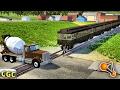 High speed Runaway Subway Train Crashes BeamNG Drive #4