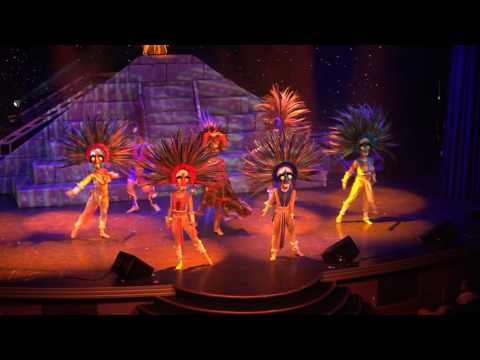 Musical Akrobatik Acrobat African Sony 4k UHD Talent Live Show on Cruise Ship