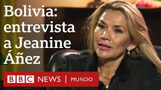 Jeanine Áñez, presidenta interina de Bolivia: