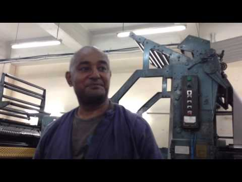 Explanation of the Printing Presses, Fiji Times, Suva, Fiji - Part 2