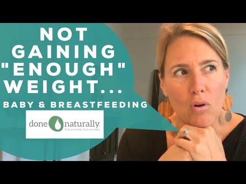Why Your Breastfed Baby Isn't Putting On The Weight