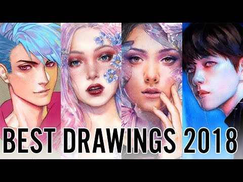 Best Drawings I Did In 2018