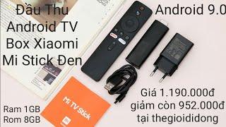 Đầu Thu Android TV Box Xiaomi Mi Stick Đen Giá 1190 giảm còn 952k tại thegioididong