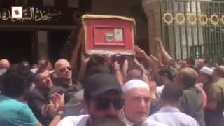 تزاحم الفنانين علي «نعش» والدة المخرج شريف عرفة