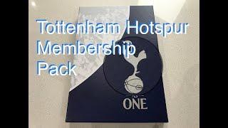 Spurs One Hotspur Membership Pack unboxing/reveal | Tottenham Hotspur Junior Member Pack