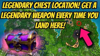 THIS LEGENDARY CHEST GIVES LEGENDARY ITEMS in FORTNITE! GUARANTEED LEGENDARY WEAPON in FORTNITE!