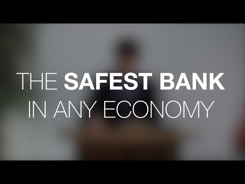 The Safest Bank In Any Economy