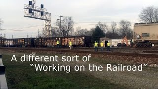 April 19th  Fostoria Ohio Derailment: The Aftermath