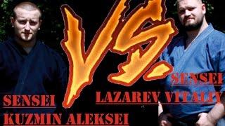 Demonstration 3: sensei Lazarev Vitaliy and Kuzmin Aleksei Aikido & Aikijujutsu Yoseikan Russia