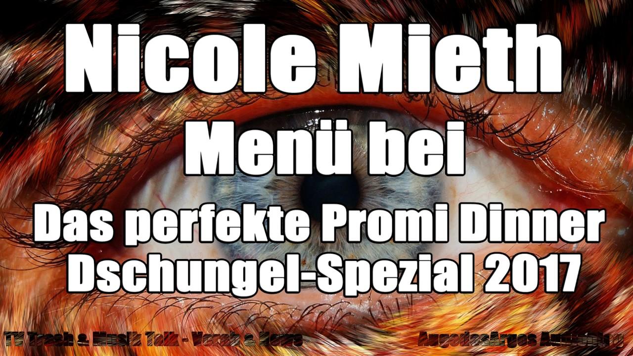 Nicole Mieth Menü Bei Das Perfekte Promi Dinner Dschungel Spezial