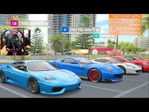 Forza Horizon 3 GoPro w/ThatDudeInBlue Ferrari Online Cruise