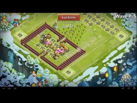 Castle Clash - Farming HBM Wave P