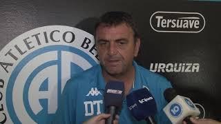 Diego Osella previo al partido contra Patronato