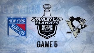 Penguins win Game 5, advance to Round 2