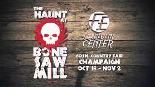 The Haunt at Bone Saw Mill and Zombie Paintball Shoot - TV Commercial