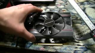 Обзор и майнинг на RX 550 4GB Sapphire (Распаковка и тест)