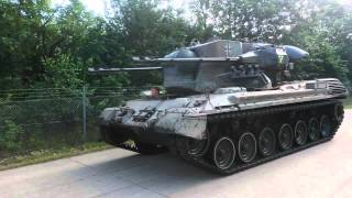 Anti aircraft tank Gepard