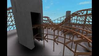 Caillou Rides A Roller Coaster Roblox