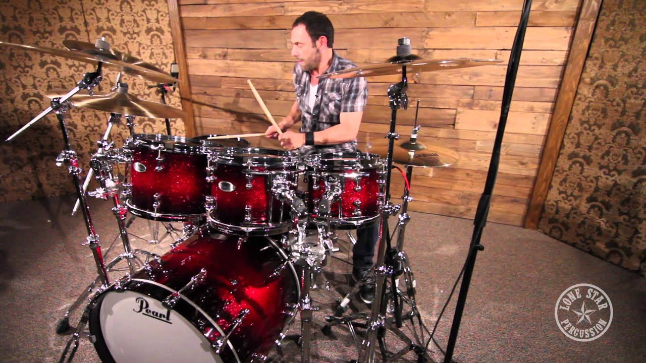 Pearl Reference Pure Series 7 Piece Drum Set Shell Pack in Scarlett     Pearl Reference Pure Series 7 Piece Drum Set Shell Pack in Scarlett Sparkle  Burst   YouTube