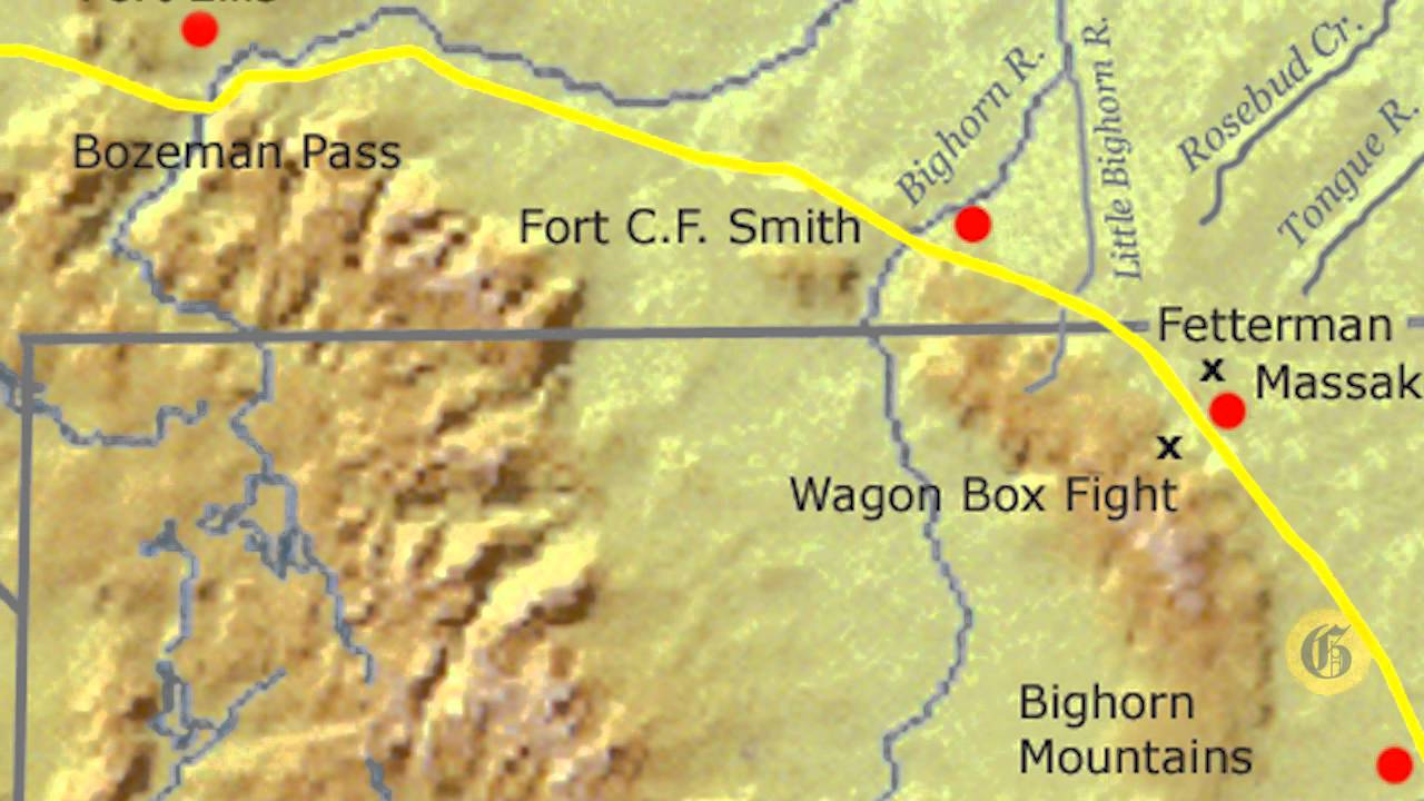 Montana History Minute: Bozeman Trail leads to two wars - YouTube