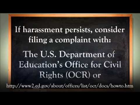 Bullying, Harassment, & Civil Rights