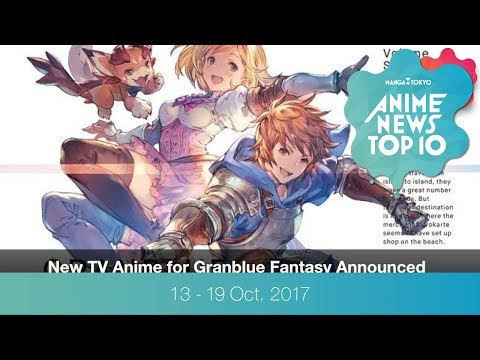 This Week's Top 10 Most Popular Anime News (13-19 October 2017)
