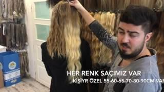 Saç uzatmanın en kolay yolu Suzan Peruk - Yarımay Çıtçıt takılışı , At kuyruğu yapımı 0507 724 5350