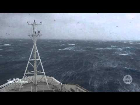 RV Investigator in the Southern Ocean