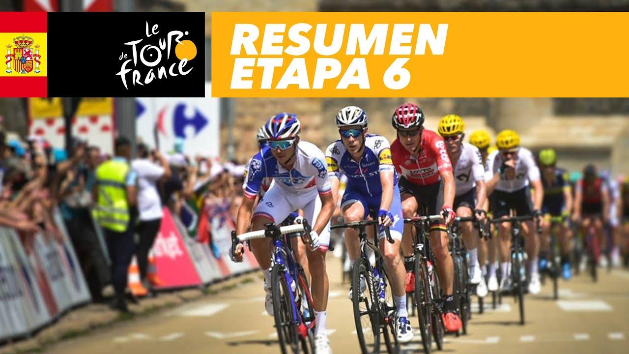 Resumen Etapa 6 Tour De France 2017 Youtube