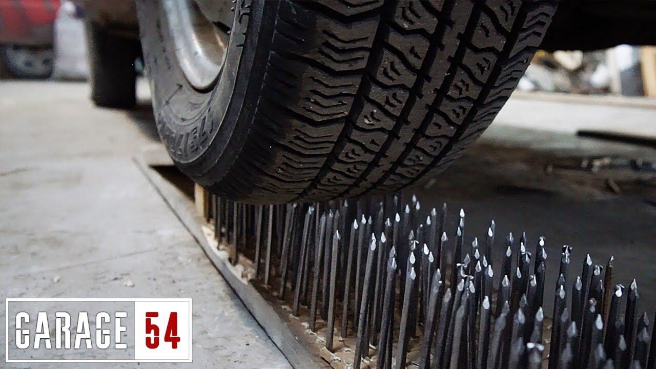 5000 пирона ще се срещнат с гумите на този автомобил! Какво ли ще стане?