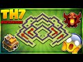 "BRAND NEW 2018 ""BEST""-TOWN HALL 7 (TH7) TROPHY/DEFENCE BASE-Clash Of Clans"