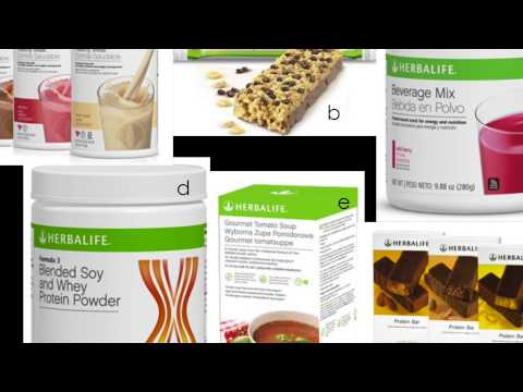 Herbalife Products Info