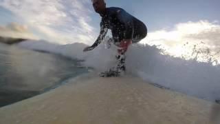 Las 9 olas de Lucho en Sabón