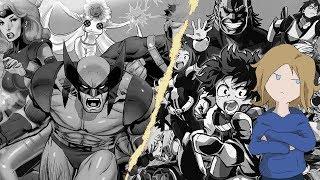 The Superhero Divide - X-Men and My Hero Academia || Pulp Culture