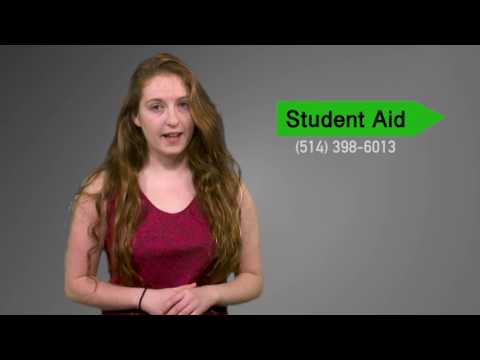 McGill In Course Financial Aid Application
