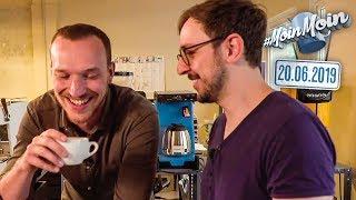 15000 Euro für eine Kaffeemaschine? | MoinMoin mit Lars und Andreas bei Onetake Coffee