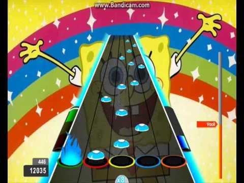 Rizki : Goofy Goober Rock - SpongeBob SquarePants 100% FC Guitar Flash Expert
