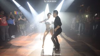IRVING & MARTHA Bachata Dance Performance At THE SALSA ROOM