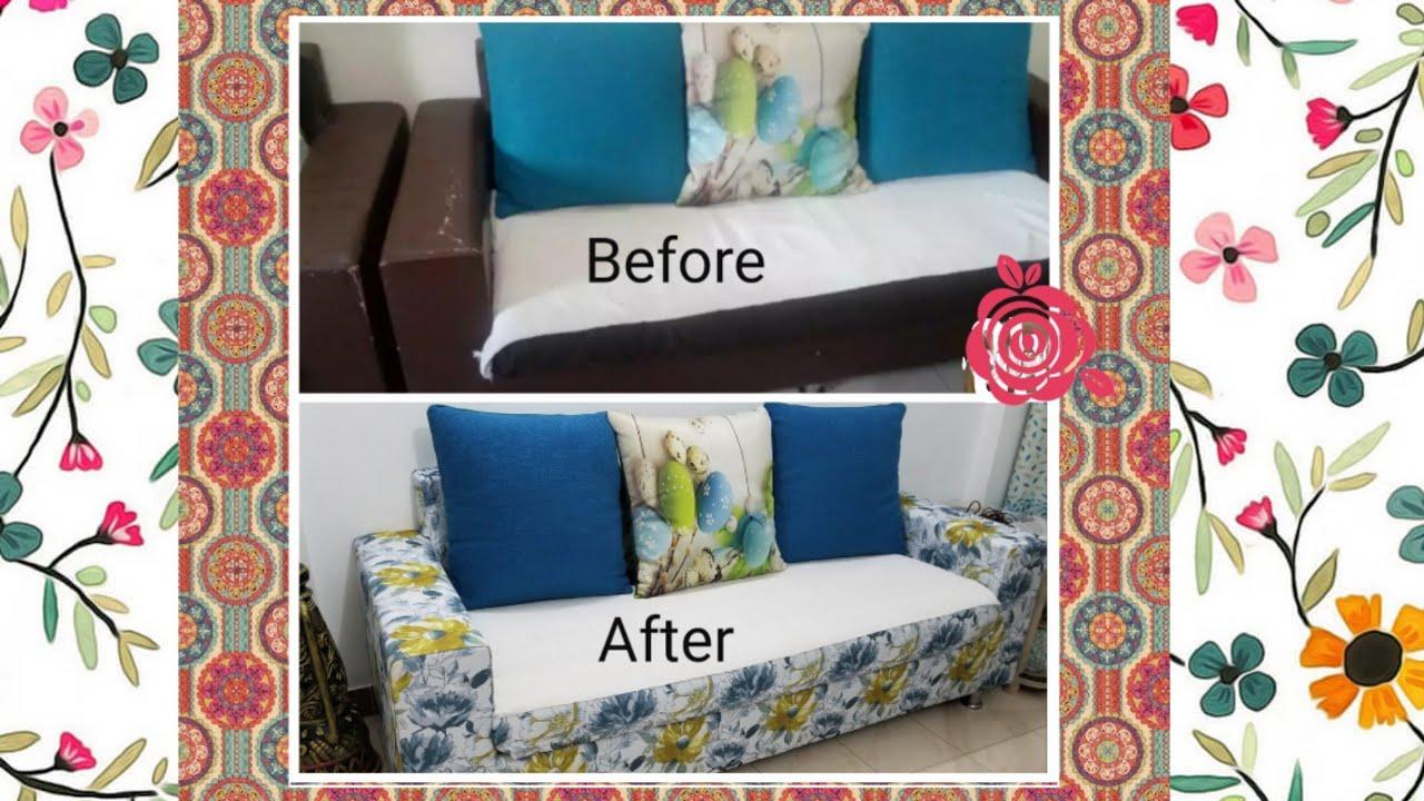 Reupholster A Sofa No Sew