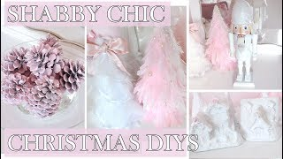GIRLY CHRISTMAS DIYS // EXTRA FRILLY & PINK