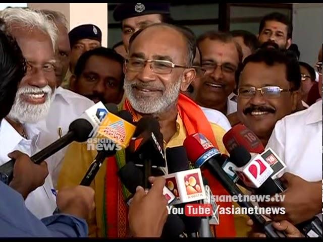 Alphons kannanthanam reached Kerala