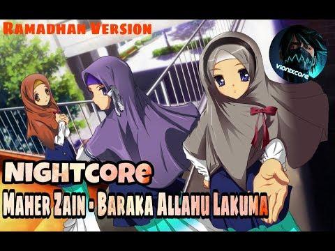 [Nightcore] Maher Zain - Baraka Allahu Lakuma