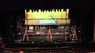 Time-lapse: 'If/Then' loads into the Buell Theatre in Denver