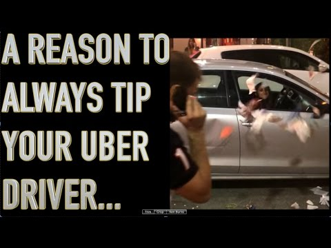 Uber drivers get ABUSED Always TIP Your UBER driver