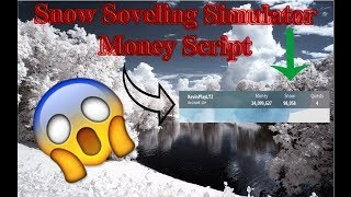 Snow Shoveling Simulator Hack | Unlimited SNOW and MONEY!!! | Roblox