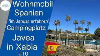 Mit dem Wohnmobil nach Spanien   Januar 2020   Teil 10   Camping Javea in Xabia   Lucky Camper