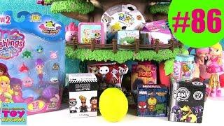 Blind Bag Treehouse #86 Unboxing | Trolls Shopkins Disney Num Noms | PSToyReviews