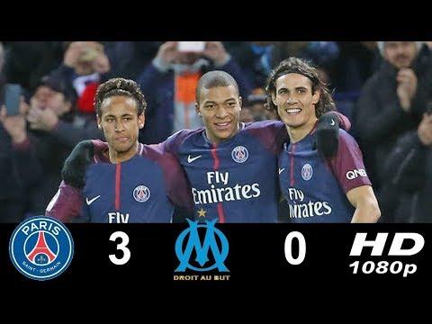 PSG Vs Marseille Ligue 1. 25/02/2018